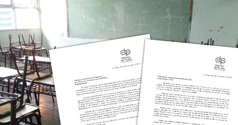 El Defensor del Pueblo se ofreció como mediador en el conflicto docente