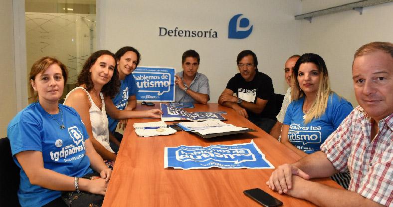 Lorenzino y la asociación TGD-Padres-TEA trabajarán en conjunto por los chicos con autismo