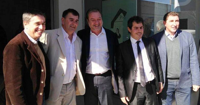 Lorenzino inauguró en Azul una delegación de la Defensoría