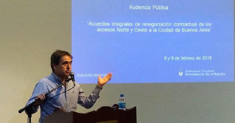 """Lorenzino, contra el aumento de peajes: """"El Estado interviene a favor de las empresas y no de la gente"""""""
