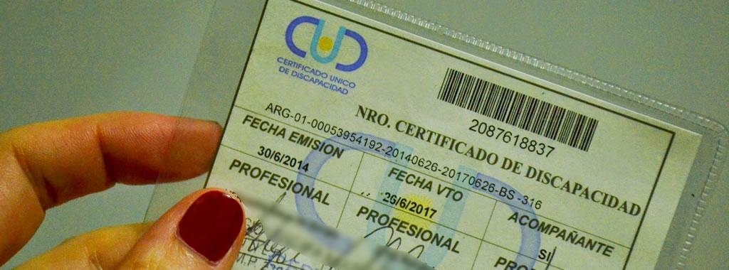 Extienden la vigencia de certificados de discapacidad vencidos